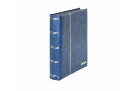Lindner Insteekalbum Elegant (Luxe) Zwarte bladen/Blauwe kaft (Lindner 1169S-B)