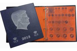 Hartberger Blauw Luxe Voordrukalbum Willem-Alexander 2013-2017