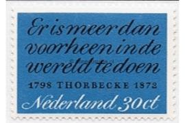NVPH 1009 Postfris Thorbecke 1972