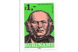 Zonnebloem 208 Postfris De Internationale Postzegeltentoonstelling zegel uit blok 1980