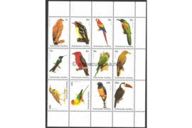 Nederlandse Antillen NVPH V1412-1423 Postfris (Half velletje Met velrand) Vogels 2002