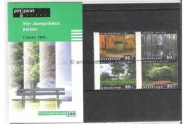 NVPH M206 (PZM206) Postfris Vier Jaargetijden (uit PB53 a t/m d) 1999