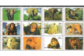 Nederlandse Antillen NVPH V1495-1506 Postfris (Half velletje Zonder Velrand) Dieren 2004