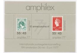 Nederland NVPH 1141 Postfris Blok Amphilex '77 1977