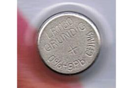 GRUNDIG AG10   389   LR1130 / 1,5 Volt / 75 mAh Knoopcel Batterij  (per stuk)