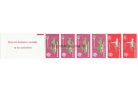 Nederlandse Antillen NVPH PB 1 Postfris Postzegel-/Automatenboekje Type Disberg, 2 x no. 559 + 4 x no. 561 1977
