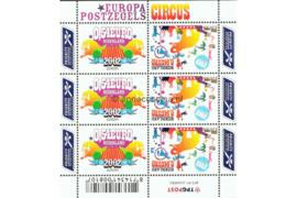 """Nederland NVPH V2099-2100 Postfris Velletje Europa """"Circus"""" 2002"""