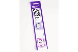 DAVO Easy stroken zwart Z20 (215 x 24) 25 stuks