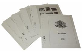 Lindner Inhouden / T-Voordruk albumbladen met folie voorbladen met stroken (Inhoud) Bulgarije 1998-2006 (52 bladen) (Lindner 136-98)