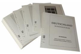 Lindner Inhouden / T-Voordruk albumbladen met folie voorbladen met stroken (Inhoud) Vellen van 10; 1994-1995 (54 bladen) (Lindner 120BK-94)