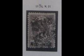 NVPH 37A Gestempeld FOTOLEVERING (2 1/2 gulden) Hulpuitgifte 1900 Lijntanding 11 1/2 x 11