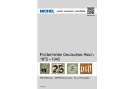MICHEL Plattenfehler Deutsches Reich 1872-1945 (ISBN 9783954022311)