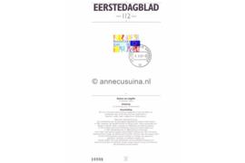 Nederland Importa EDB112 (NVPH 1536) Eerstedagblad Eénwording Europa 1992