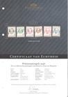 NVPH 454-459 Postfris GECERTIFICEERD FOTOLEVERING Prinsessenzegels 1946