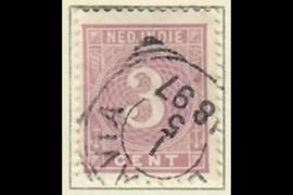 BATAVIA 1-5-1897 op NVPH 20 (SvL 1)
