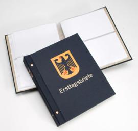 DAVO Standaard FDC album met Landswapen (Klein) met inhoud (Duitsland)