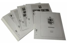 Lindner Inhouden / T-Voordruk albumbladen met folie voorbladen met stroken (Inhoud) Australië 2004-2006 (47 bladen) (Lindner 470-04)