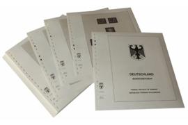 Lindner Inhouden / T-Voordruk albumbladen met folie voorbladen met stroken (Inhoud) Bondsrepubliek Duitsland 1960-1969 (30 bladen) (Lindner 120B-60)