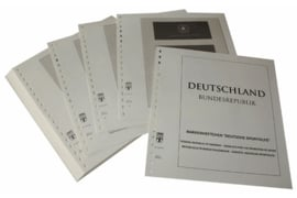 Lindner Inhouden / T-Voordruk albumbladen met folie voorbladen met stroken (Inhoud) Postzegelboekjes voor de Duitse sporthulp 1979-2011 (50 bladen) (Lindner 120B-SH)