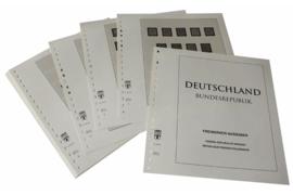 Lindner Inhouden / T-Voordruk albumbladen met folie voorbladen met stroken (Inhoud) Freimarken uitgiftes 1951-2011 (20 bladen) (Lindner 120B-D)