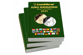 Leuchtturm Euro-Katalogus 2021 (munten & bankbiljetten) Nederlandstalige-Editie (Leuchtturm/Lighthouse  363235 ISBN 978-3-947701-26-1)