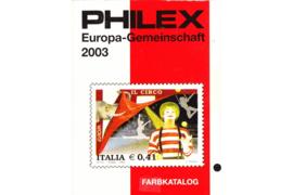Gebruikt Postzegelcatalogus Philex Europa-Gemeinschaft 2003