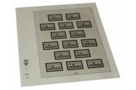 Lindner Inhouden / T-Voordruk albumbladen met folie voorbladen met stroken (Inhoud) Berlijn; Automaatzegels; 15 automaatzegels zonder waarde-indruk (1 blad) (Lindner 120CAS)