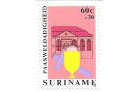 Zonnebloem 171 Postfris (60+30 cent) Paasweldadigheidzegels met toeslag 1979