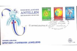 NVPH E105 50 jaar Spritzer & Fuhrmann N.V. juweliers 1977