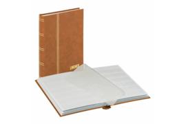Lindner Insteekalbum Standaard Bruine Kaft (Lindner 1159-H)