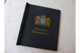 Gebruikt DAVO Postzegelalbum Linnen versie Ned. Overz. Gebdln (OGD I) Nederlands Indie / Nieuw-Guinea