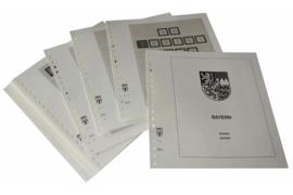 Lindner Inhouden / T-Voordruk albumbladen met folie voorbladen met stroken (Inhoud) Bayern 1849-1920 (20 bladen) (Lindner 110)