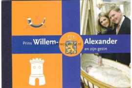 NVPH PR4 Postfris Prestigeboekje Koninklijk Huis III 2004
