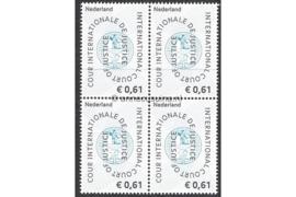 Nederland NVPH D60 Postfris (61 eurocent) (Blokje van vier) COUR INTERNATIONALE DE JUSTICE 2004