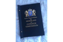 Zo goed als Nieuw! ; Gebruikt; DAVO Standaard album (FDC) Eerste Dag-enveloppen van Nederland en Overzeese Gebiedsdelen