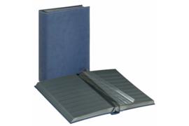 Lindner Insteekalbum Diamant Blauwe Kaft (Lindner 1195-B)