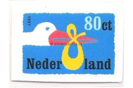 Nederland NVPH 1735a Postfris (80 cent) Geboortezegel 1997