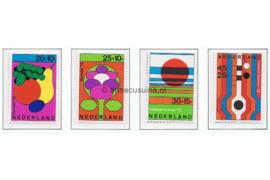NVPH 1003-1006 Postfris Zomerzegels, Floriade 1972