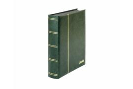 Lindner Insteekalbum Elegant (Luxe) Zwarte bladen/Groene kaft (Lindner 1169S-G)