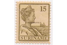 Suriname NVPH 90 Postfris (15 cent) Koningin Wilhelmina 1915-1926