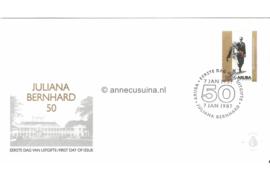 NVPH E7 Jubileumzegel, 50 jaar huwelijk. Gezamenlijke uitgave met Nederland en Ned. Antillen 1987