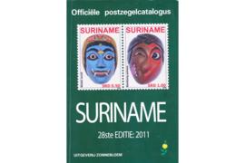GEBRUIKT Postzegelcatalogus Zonnebloem Suriname 2011