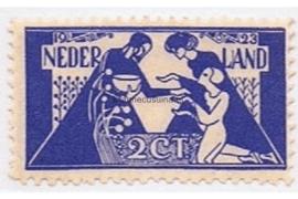 Nederland NVPH 134 Ongebruikt (2 + 5 cent) Tooropzegels 1923