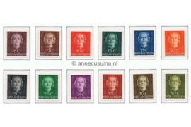 Nederlandse Antillen NVPH 218-229 Postfris Koningin Juliana En Face 1950