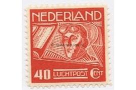 Nederland NVPH LP4 Postfris (40 cent) Koppen en Van der Hoop 1928