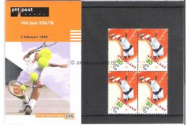 NVPH M205 (PZM205) Postfris 100 Jaar KNLTB (uit PB52) 1999