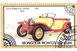 Mongolië Michel 1827 Gestempeld Oldtimers 1986