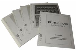 Lindner Inhouden / T-Voordruk albumbladen met folie voorbladen met stroken (Inhoud) Vellen van 10; 1998 (38 bladen) (Lindner 120BK-98)