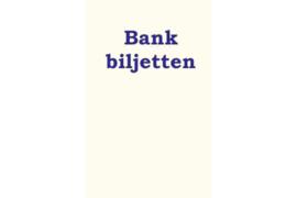 """Hartberger Rugetiket voor banden """"Bankbiljetten"""""""