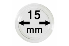 Lindner Muntcapsules 15 mm Per Stuk (Lindner 2250015PS)
